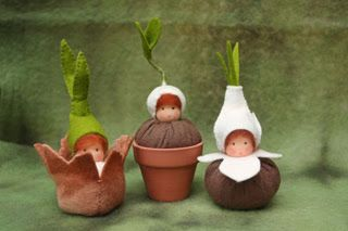 Apple and apple: Вальдорфские куклы
