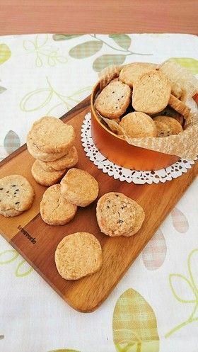 ザクホロ☆米粉豆腐のアイスボックスクッキー。
