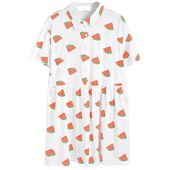 Tumblr Inspired Watermelon Dress