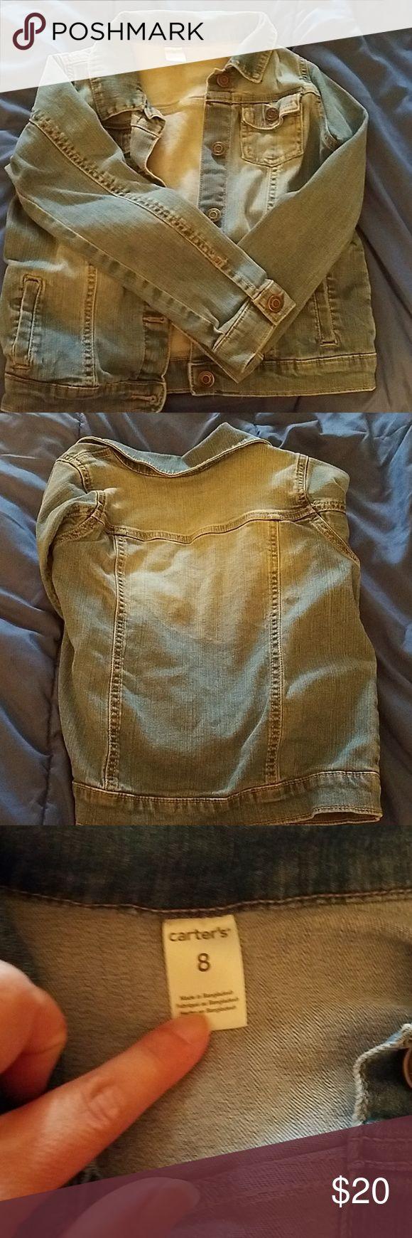 Carter's jean jacket Girls jean jacket Jackets & Coats