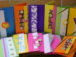 Diseños Marta Correa: Lluvias de sobre para regalos hechas a mano