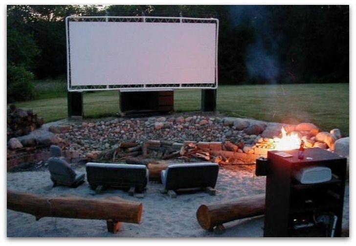 pantalla de bricolaje película patio trasero de pvc