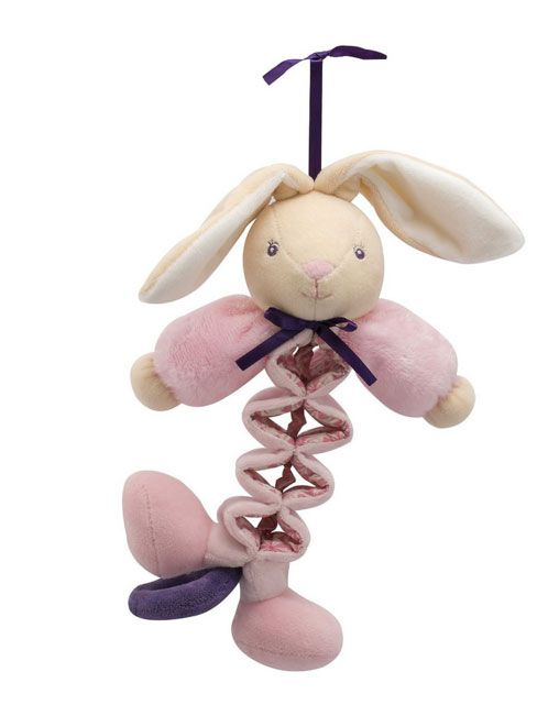 Kaloo Petite Rose Musical Zig Rabbit