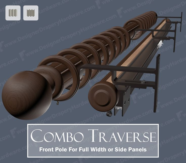 1000+ images about Decorative Traverse Rods on Pinterest | Smooth ...