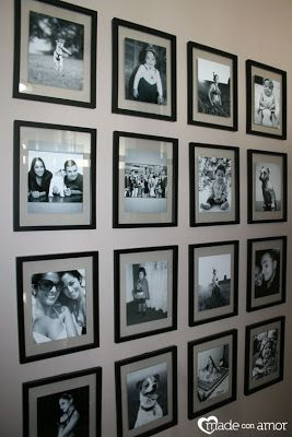 My Smaller Black And White Photos Are All Matted On The