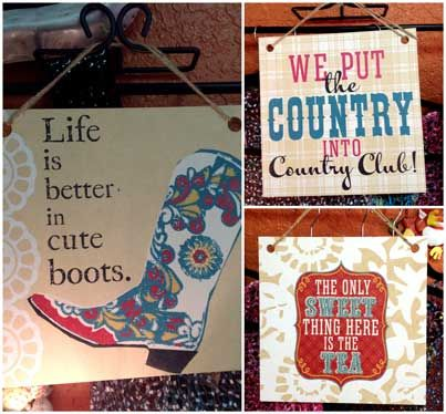 Cute signs for you and/or a friend and made in the USA! #carolescollections