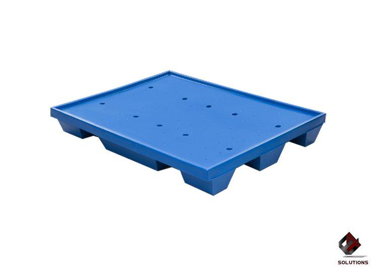 E4-6020 TARIMA DE PLASTICO WT-04  Fabricada en polietileno de media densidad. Entrada para montacargas. Flexible y con protección a los rayos ultra violeta. Resistente al impacto. Dimensiones: 124 cm. x 103.5 cm. x 15,5 cm. Peso: 17 Kg. Colores: Gran Variedad de Colores. Carga Estática: 1000 Kg.