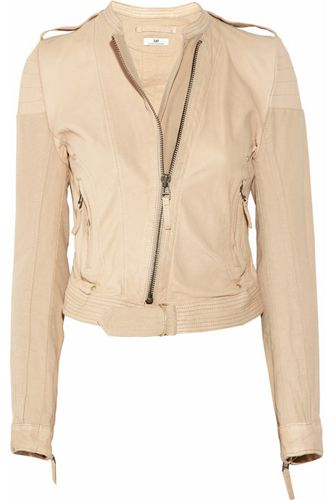 The 25  best Cream leather jacket ideas on Pinterest | Leather ...