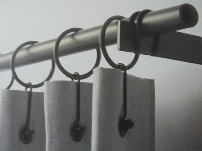 les 25 meilleures id es de la cat gorie attaches de rideaux sur pinterest rideaux de pompns. Black Bedroom Furniture Sets. Home Design Ideas