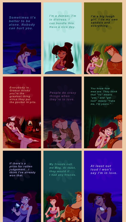 Megara is my favorite disney non-princess: end of story. :) <3