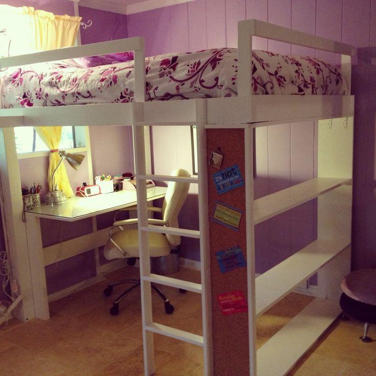 Best 25+ Adult loft bed ideas only on Pinterest   Build a loft bed ...