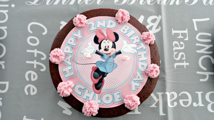 A Minnie Mouse Themed Birthday Party