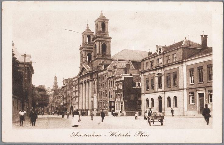 Mozes en Aäronkerk aan het Waterlooplein