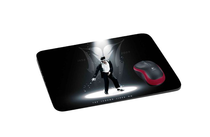 Michael Jackson mousepad, customized mouse pad, mousepad with your photo by pacforme on Etsy