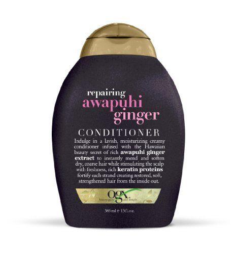 OGX Conditioner, Repairing Awapuhi Ginger, 13oz OGX https://www.amazon.com/dp/B006I3361S/ref=cm_sw_r_pi_dp_x_0J80ybKWWHEKM