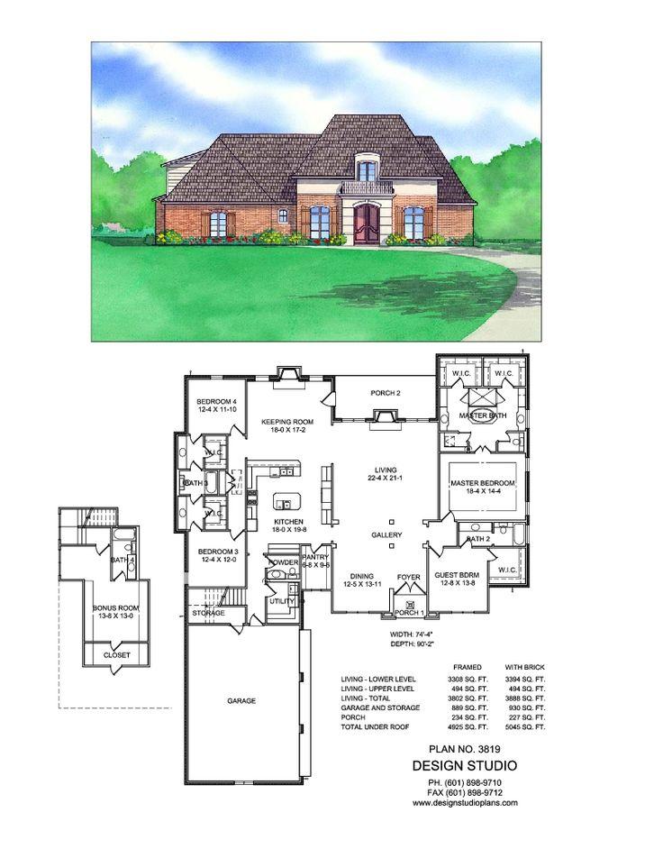 Plan #3819 | Design Studio