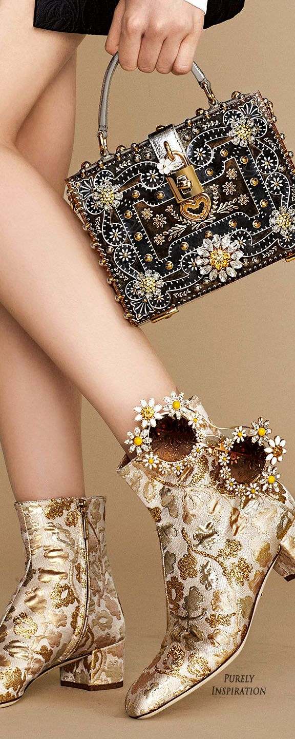 Dolce & Gabbana SS2016 Daisy Collection | Purely Inspiration