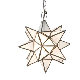 Morovian Star Chandelier (Frosted)