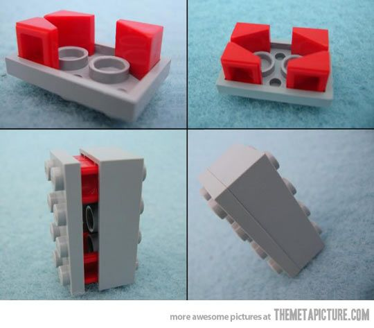 I wish I had discovered this LEGO trick before…must tell Steve!