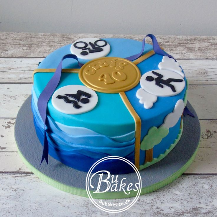 Plastic Bicycle Cake Decorations