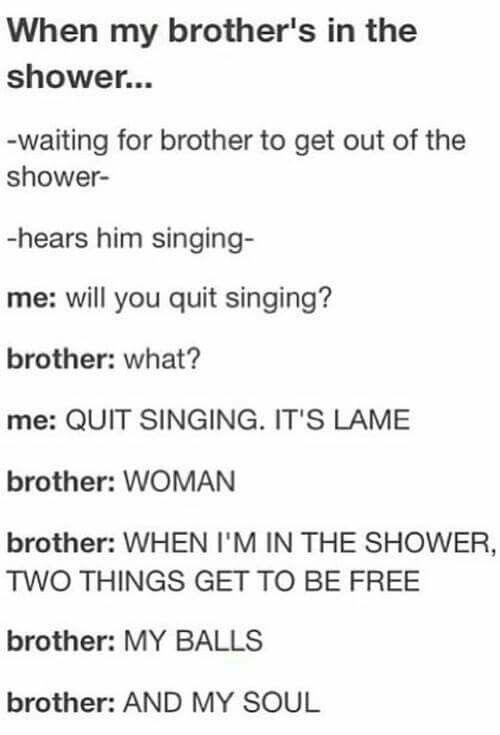 That's me (singer) vs my sister (hater)