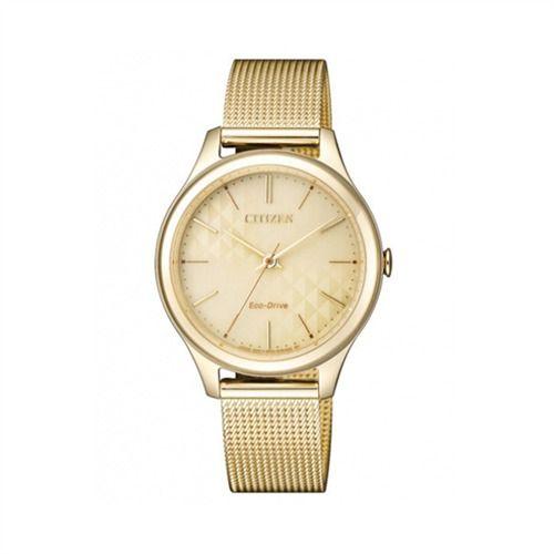 Damenuhr mit Milanaiseband von CITIZEN EM05020-86P https://www.thejewellershop.com  #watch #uhr #jewelry #schmuck #citizen #uhren  #armbanduhr