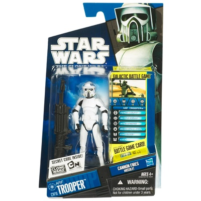 Product Detail View - STAR WARS THE CLONE WARS ARF TROOPER