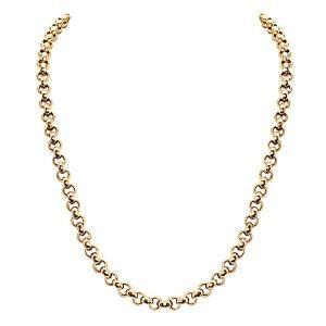 Nikki Lissoni Gold-tone 4mm Rolo Chain Necklace
