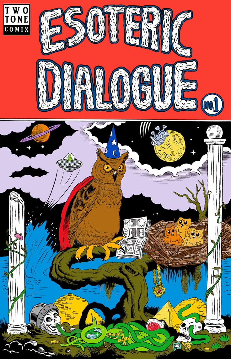 Esoteric Dialogue #1 up for reading at www.twotonecomix.com/esoteric-dialogue Two new pages every week.