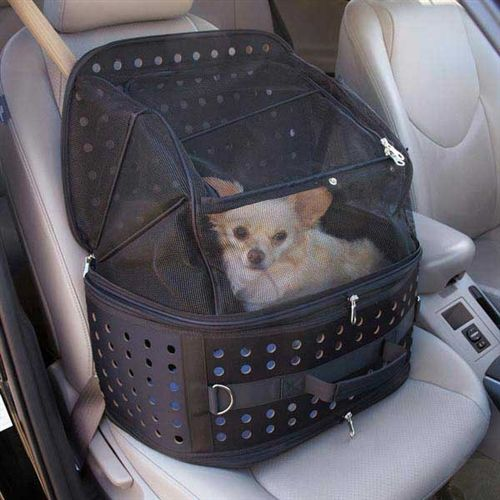 Ultimate Traveler Pet Carrier in Black #dogs