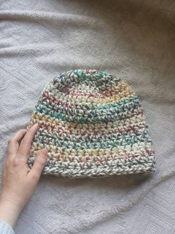 Check out this item in my Etsy shop https://www.etsy.com/ca/listing/521894533/crochet-hudson-bay-slouch-hat