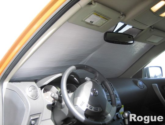 Made to order, Custom made Heatshield for your Nissan Rogue.