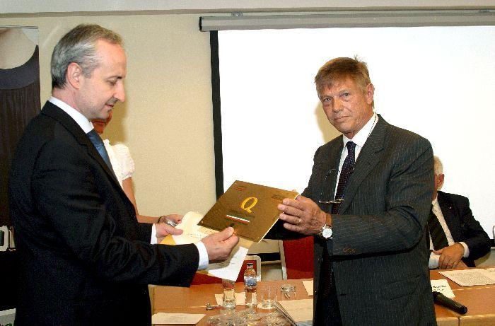 Premiazione Budapest 2011