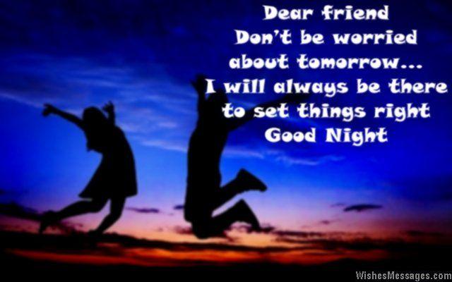 Friend Goodnight Message - Google Search