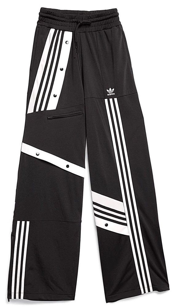 b3d1c298fba97 ADIDAS DANIELLE CATHARI BLACK WHITE TRACK PANTS M DECONSTRUCTED tan jacket  linen  fashion  clothing  shoes  accessories  womensclothing  activewear  (ebay ...