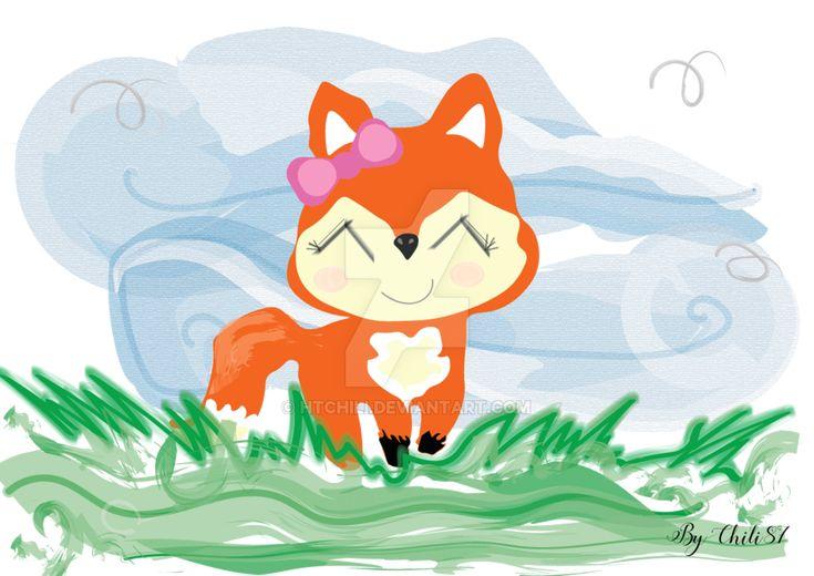 Fox by HTChili.deviantart.com on @DeviantArt