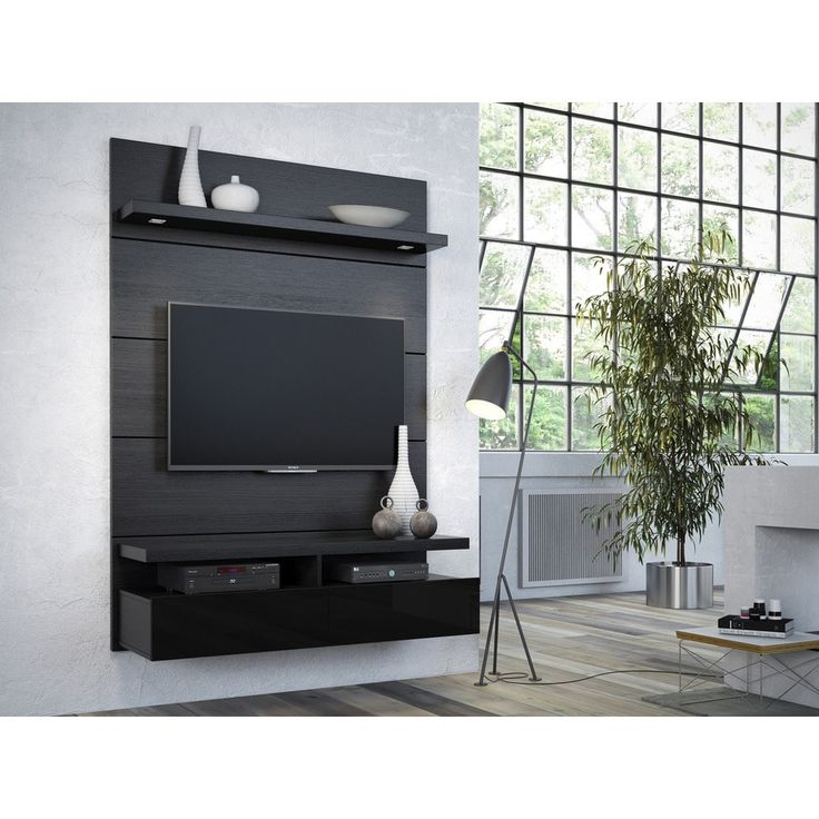 Manhattan Comfort Cabrini 1.2 Floating Wall Theater Entertainment Center | Overstock.com Shopping – The Best Deals on Entertainment Centers