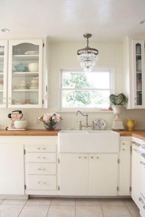 Die besten 25+ Shabby chic küche Ideen auf Pinterest | Shabby chic ...