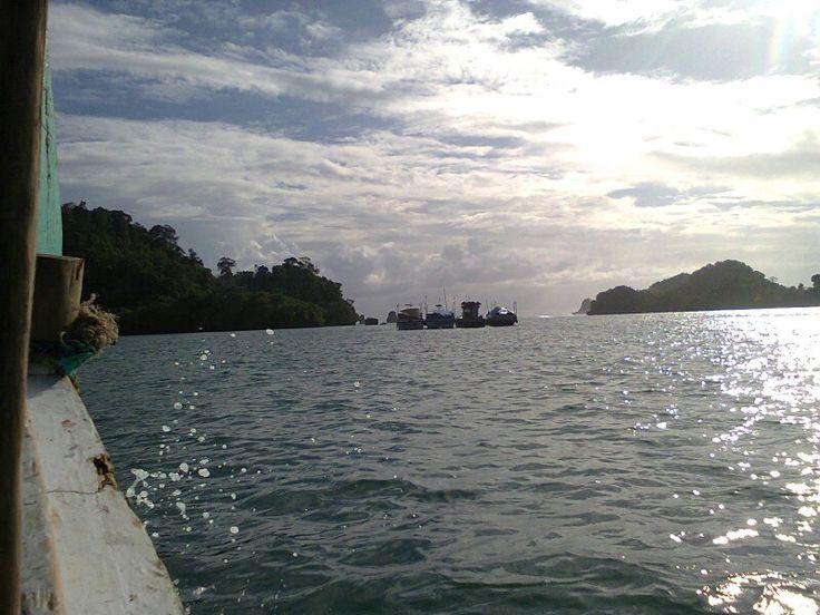 On the way to Sempu Island.
