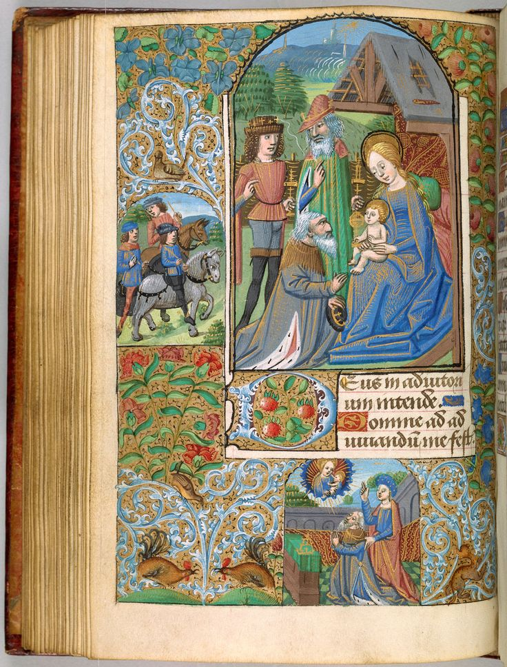 Adoration of the Magi | Book of Hours | France, Rouen | ca. 1480 | The Morgan Library & Museum