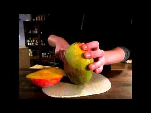 mango schneiden leicht gemacht! - YouTube