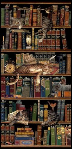 **Classic Tails by Charles Wysocki http://sunnydaypublishing.com/books/ Cats and books - love both :)