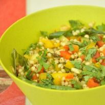 Cook up a #healthy #jowar medley filled with vegetables and flavor. Enjoy a light snack, the guilt free way!