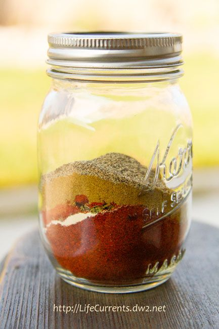 use a lot of taco seasoning but the packaged stuff is loaded with ...