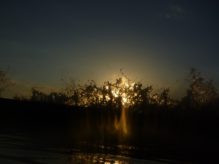 Sunset - what a Splash!