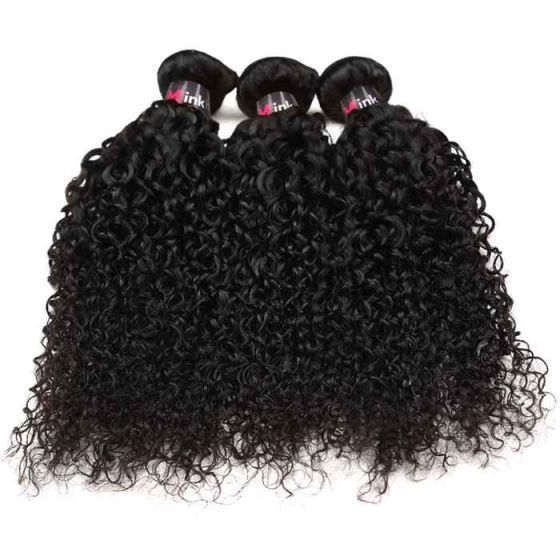 Virgin brazilian human hair weave,Brazilian kinky curly bundles of hair weave