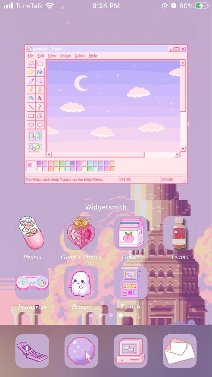 Anime Widget Design Widget Design Iphone Wallpaper App Iphone Wallpaper Ios