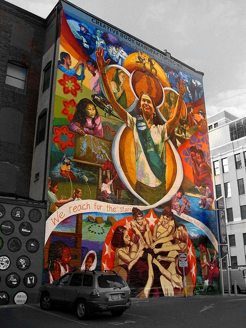 Philadelphia Mural Project. | Art | Street art graffiti ...