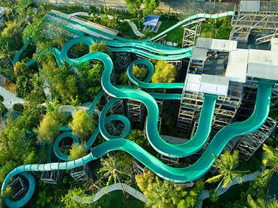 waterbom park  Bali is a wonderful place to play like a child again