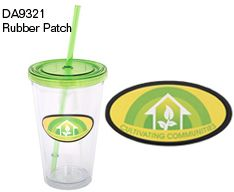 DA9321 - 500 ML. (16 OZ.) DOUBLE WALLED TUMBLER WITH STRAW - Debco Your Solutions Provider Contact us today info@promoME.ca Www.promoME.ca
